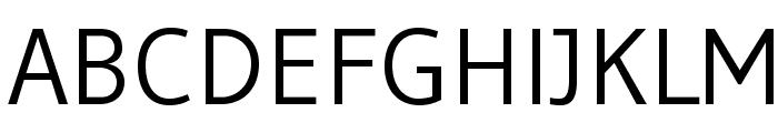 Gudea Font UPPERCASE