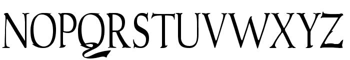Gudvayne Regular Font UPPERCASE