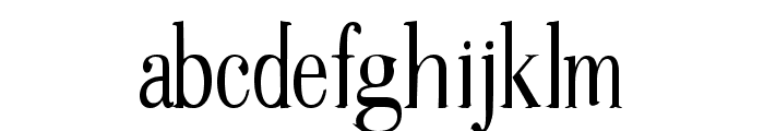 Gudvayne Regular Font LOWERCASE