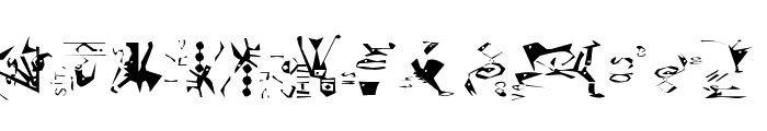 Guernica38Remember Font UPPERCASE