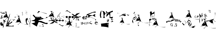 Guernica38Remember Font LOWERCASE