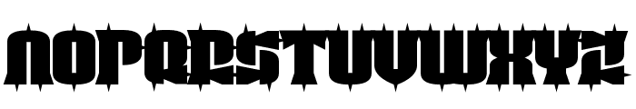 Guest Circus Paradiso Font UPPERCASE