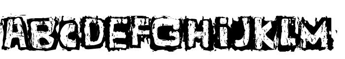 Guignol's Band Font UPPERCASE