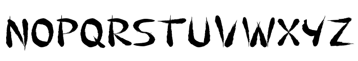 Guilin Font LOWERCASE