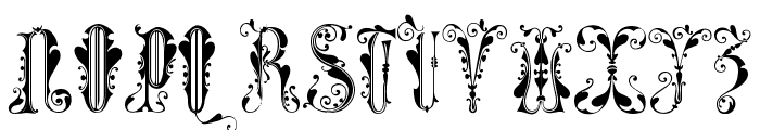 GuinevereCaps Font UPPERCASE