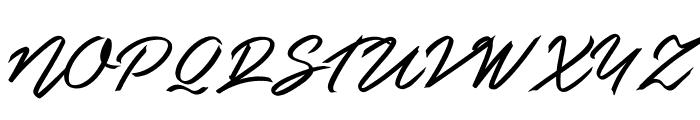 Guld Script PERSONAL USE ONLY Font UPPERCASE