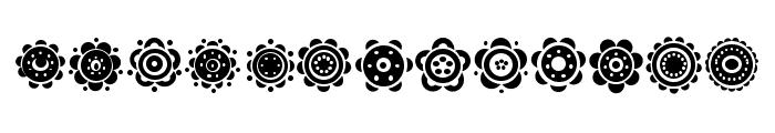 Gullar Regular Font LOWERCASE