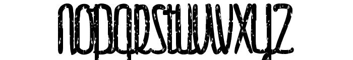 Gulliver-trash Font UPPERCASE