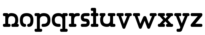 Gumbercules Font LOWERCASE
