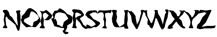Gumbootcha Font UPPERCASE