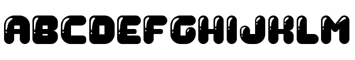 Gummy Regular Font UPPERCASE