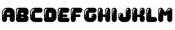 Gummy Regular Font LOWERCASE