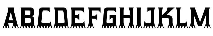 Gumtuckey-Regular Font UPPERCASE