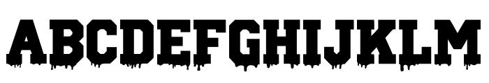 Gun School Font UPPERCASE