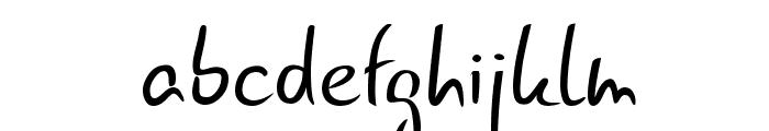 Gunny Rewritten Font LOWERCASE