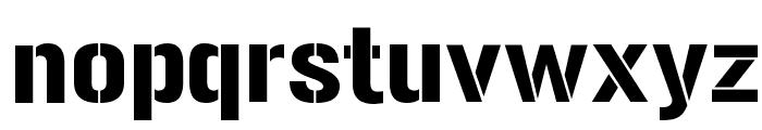 Gunplay-Regular Font LOWERCASE