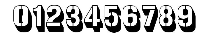 Gunplay3D-Regular Font OTHER CHARS