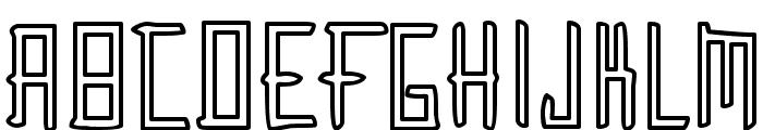Gunther Font UPPERCASE