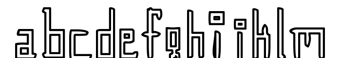 Gunther Font LOWERCASE
