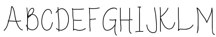 Guppy Font UPPERCASE