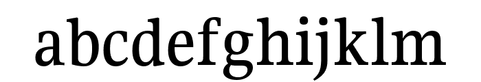 Gupter Medium Font LOWERCASE