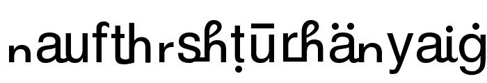 GurbaniRomanizing Font UPPERCASE
