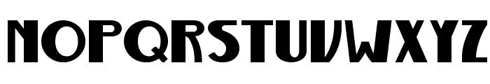 Gurindam Tebal Font UPPERCASE