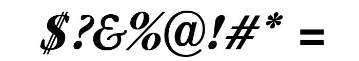 Guru Bold Italic Font OTHER CHARS