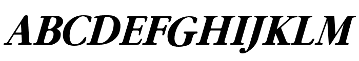 Guru Bold Italic Font UPPERCASE