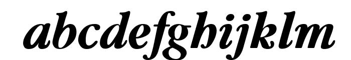 Guru Bold Italic Font LOWERCASE