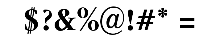 Guru Bold Font OTHER CHARS