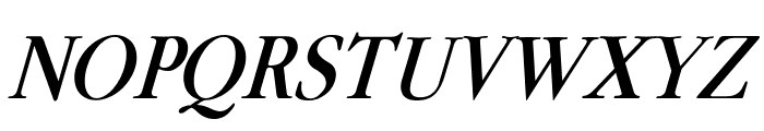 Guru Italic Font UPPERCASE