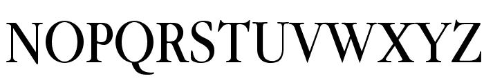 Guru Font UPPERCASE
