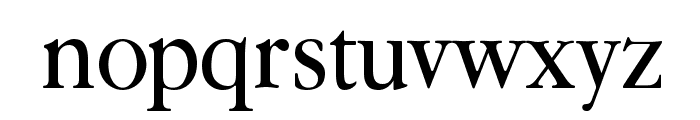 Guru Font LOWERCASE