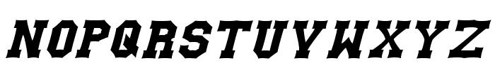 Gutcruncher Font LOWERCASE