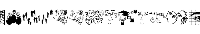 GutenbergGoesAbstract Font UPPERCASE