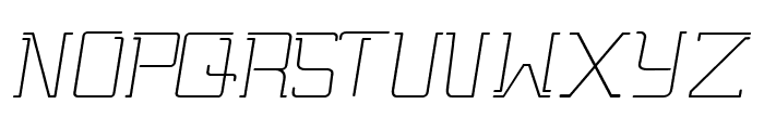 Gutsy Bold Italic Font UPPERCASE
