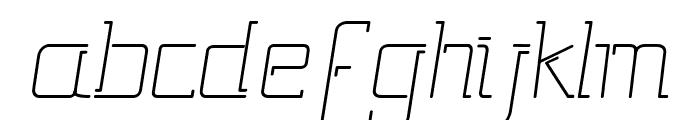 Gutsy Bold Italic Font LOWERCASE