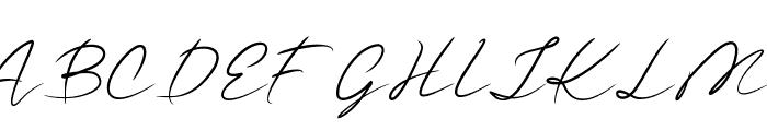 Guttime Font UPPERCASE