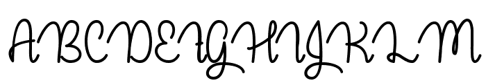 Guys My Age Font UPPERCASE