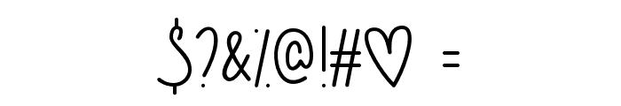 GuysMyAge Font OTHER CHARS