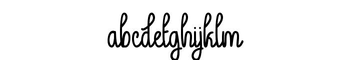 GuysMyAge Font LOWERCASE