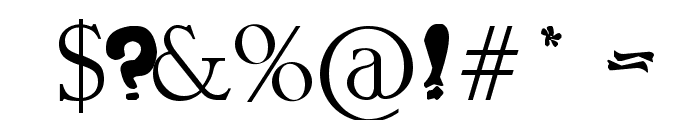 guapachosa Font OTHER CHARS