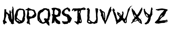 gurunge Font UPPERCASE