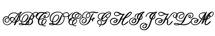Guilden-Bold Font UPPERCASE