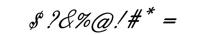 Guilden-BoldItalic Font OTHER CHARS