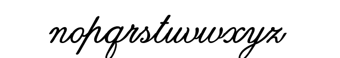 Guilden-Bold Font LOWERCASE