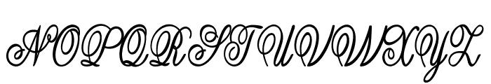 Guilden-CondensedBold Font UPPERCASE