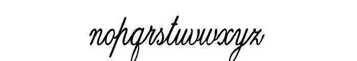 Guilden-CondensedBold Font LOWERCASE