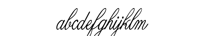 Guilden-CondensedItalic Font LOWERCASE